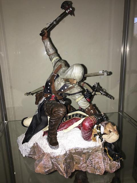 Assassins Creed III Connor - The Last Breath Figurine