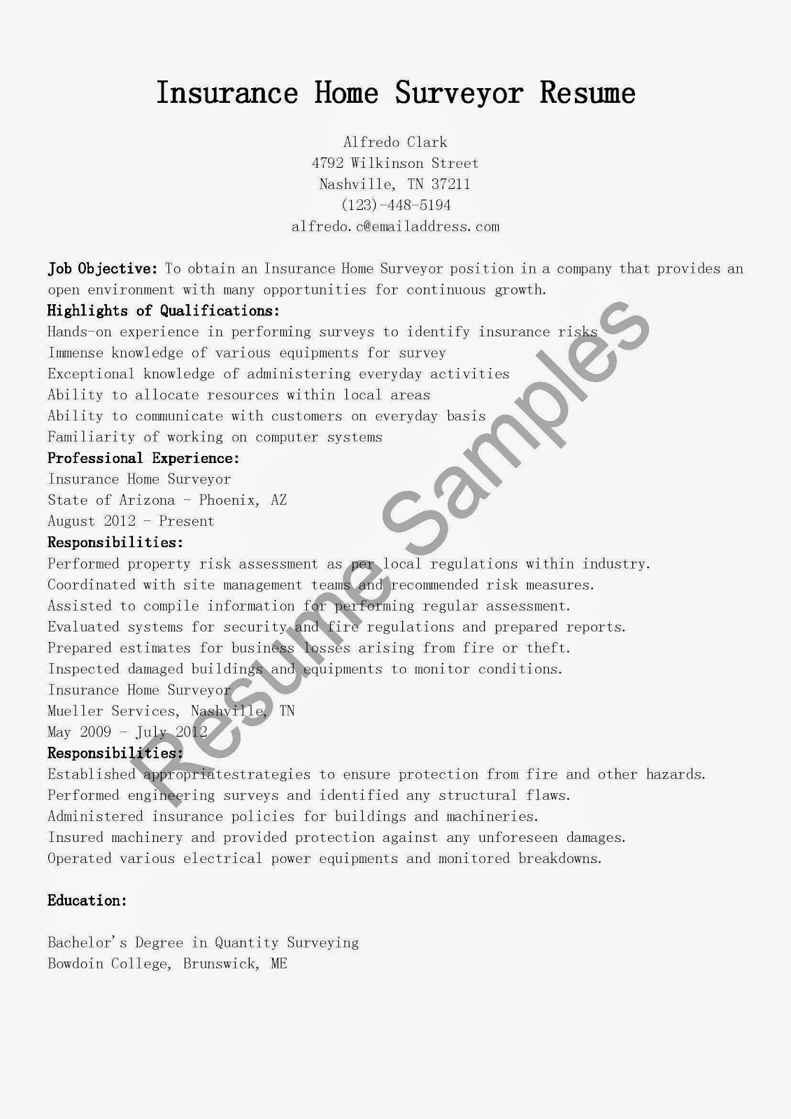 sample geologist resume cover letter