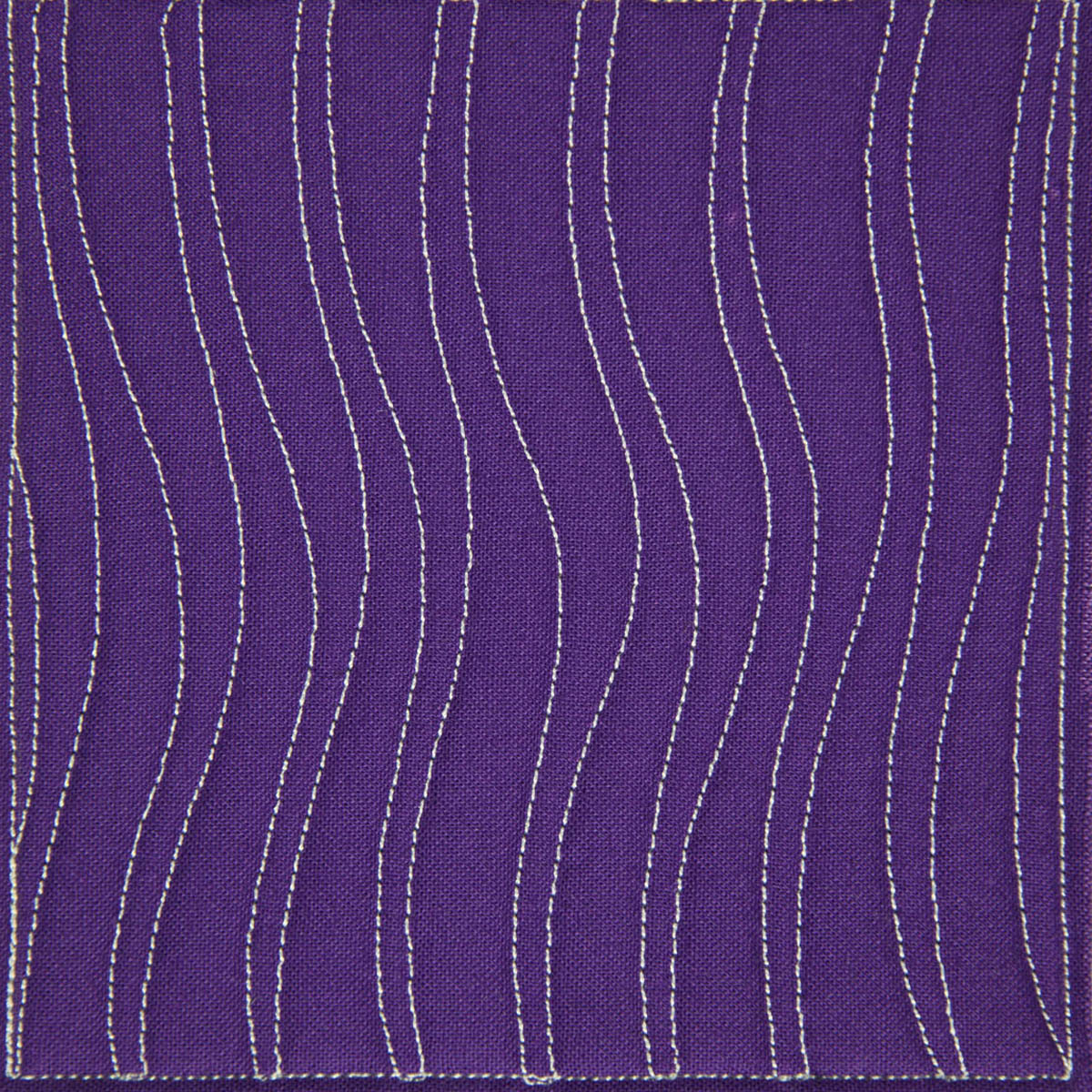 The Free Motion Quilting Project Day 1 Shadow Waves