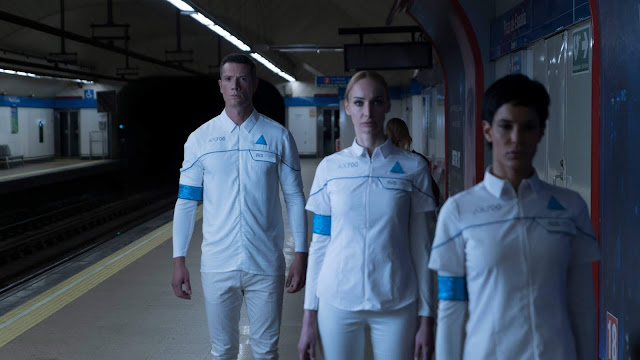 Androides toman el Metro de Madrid - Detroit Become Human