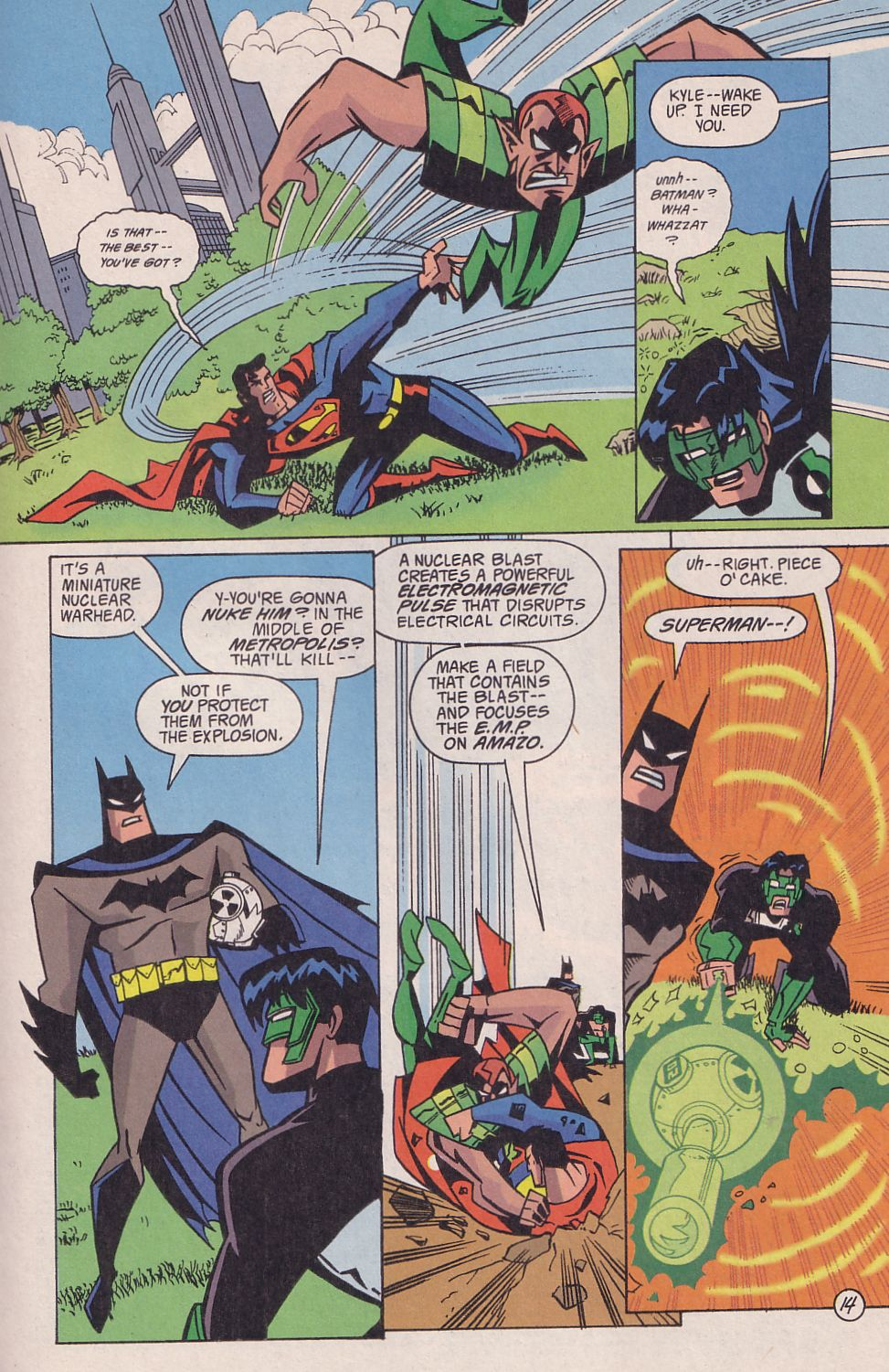 Read online Adventures in the DC Universe comic -  Issue #18 - 15