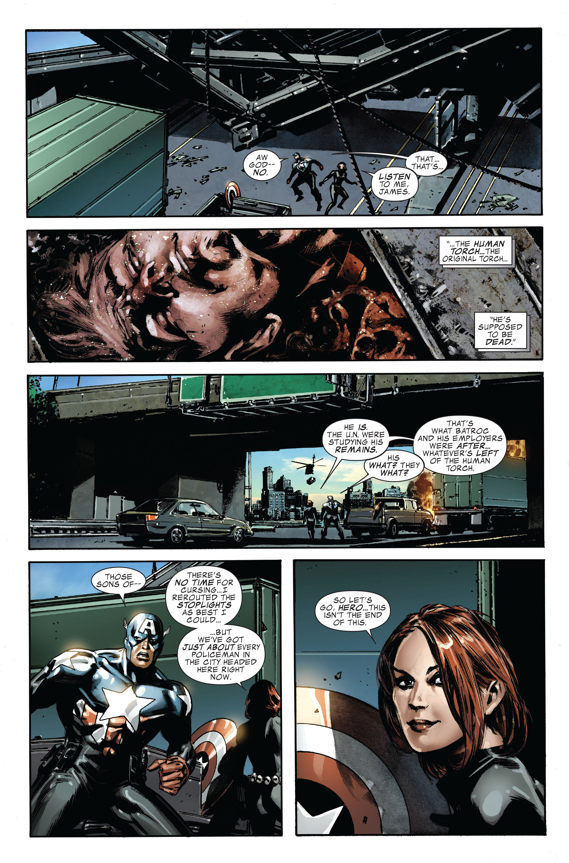 Read online Captain America (2005) comic -  Issue #45 - 21