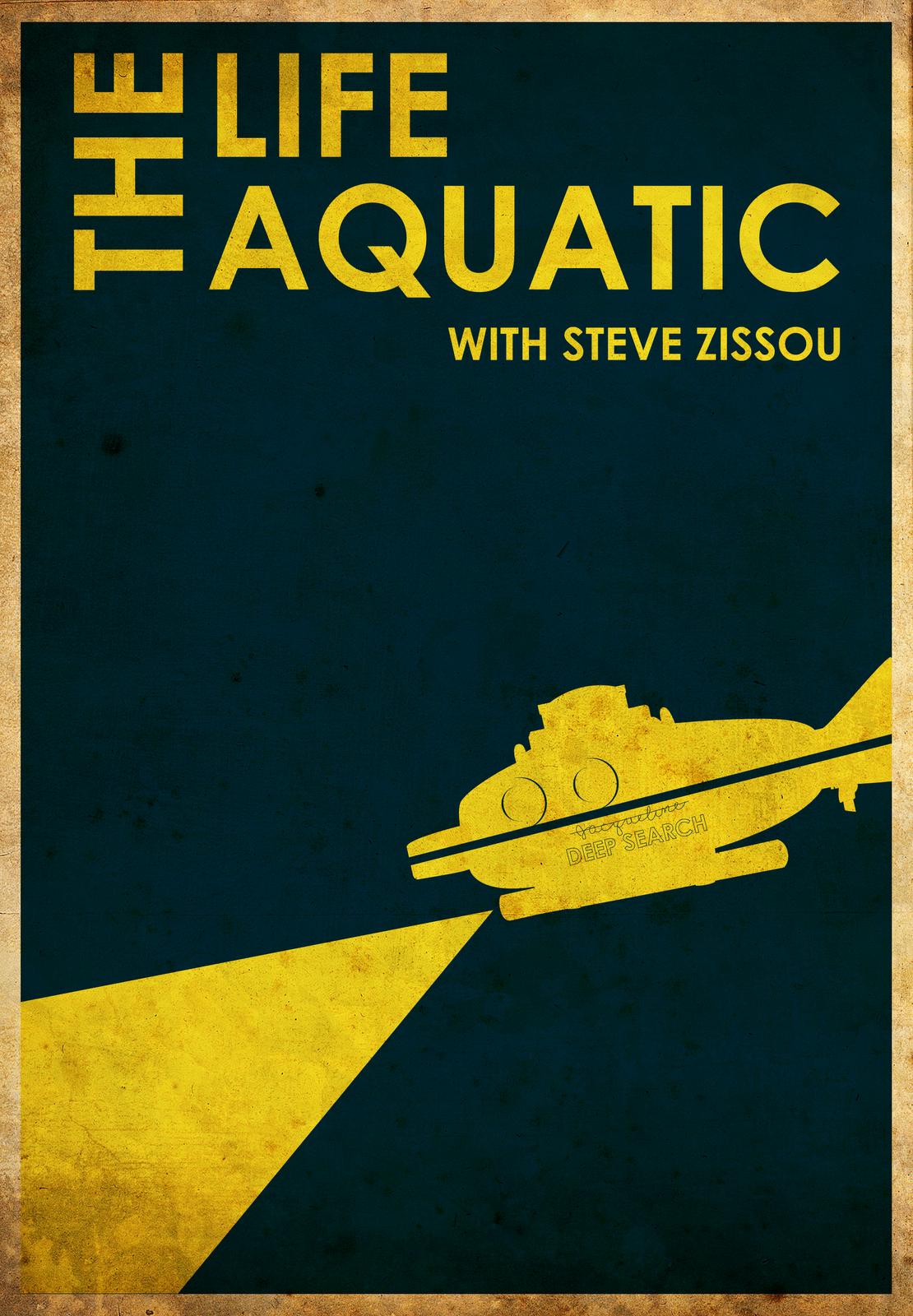 Life Aquatic Movie Pos...