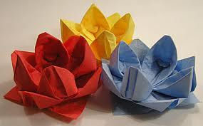 Origami Maniacs: Origami Water Lily and Lily Pad - photo#6