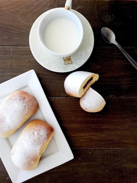 panini latte cioccolato colazione