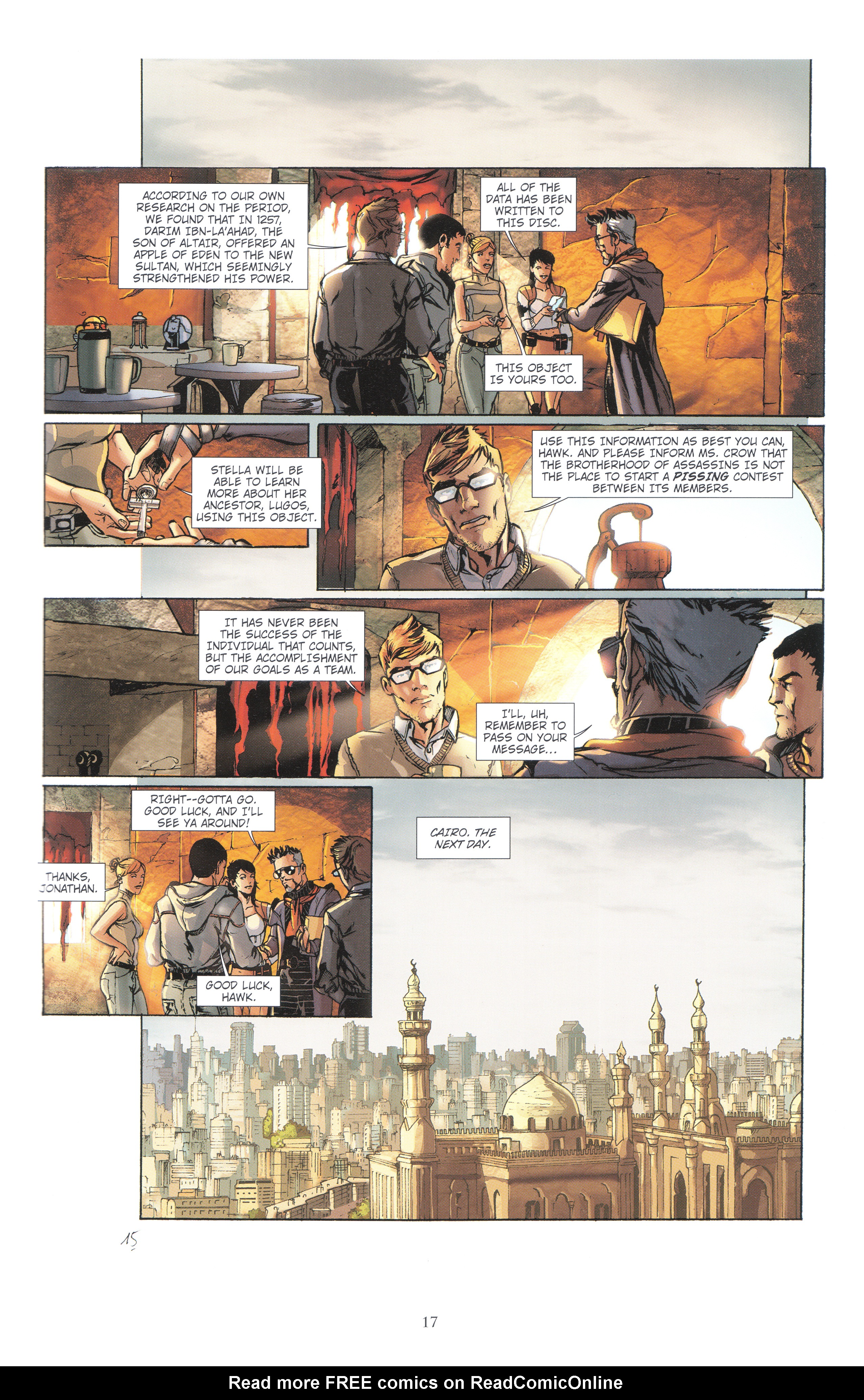 Read online Assassin's Creed (2012) comic -  Issue #4 - 17