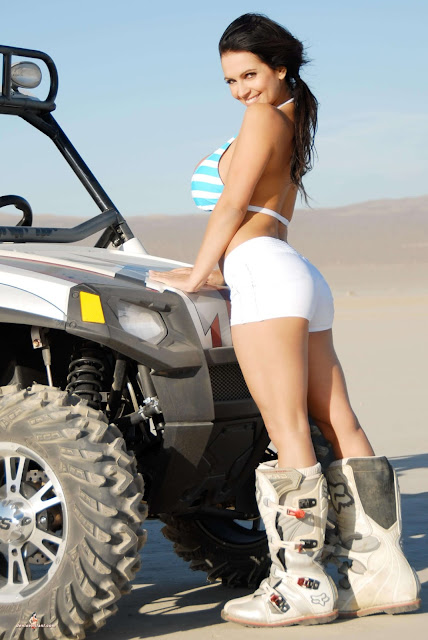 Denise Milani ATV hot and sexy Photoshoot picture 32
