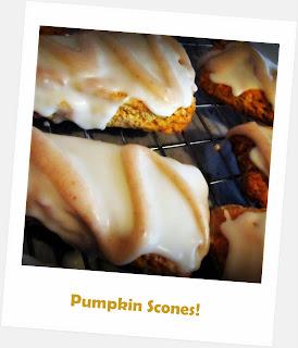 Pumpkin scone recipe