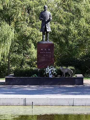Frank W Schofield Statue
