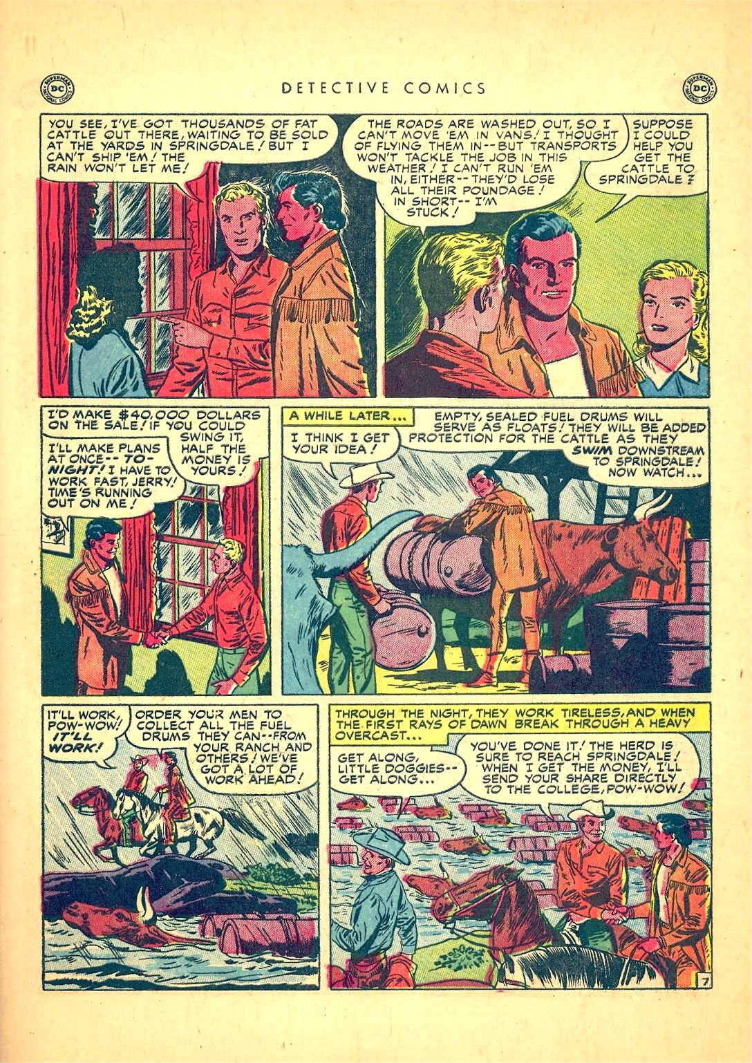 Read online Detective Comics (1937) comic -  Issue #166 - 45