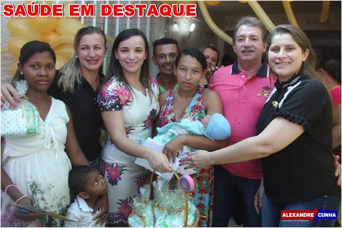Prefeito Magno prestigia evento na maternidade pública de Chapadinha e anuncia reforma do HAPA.