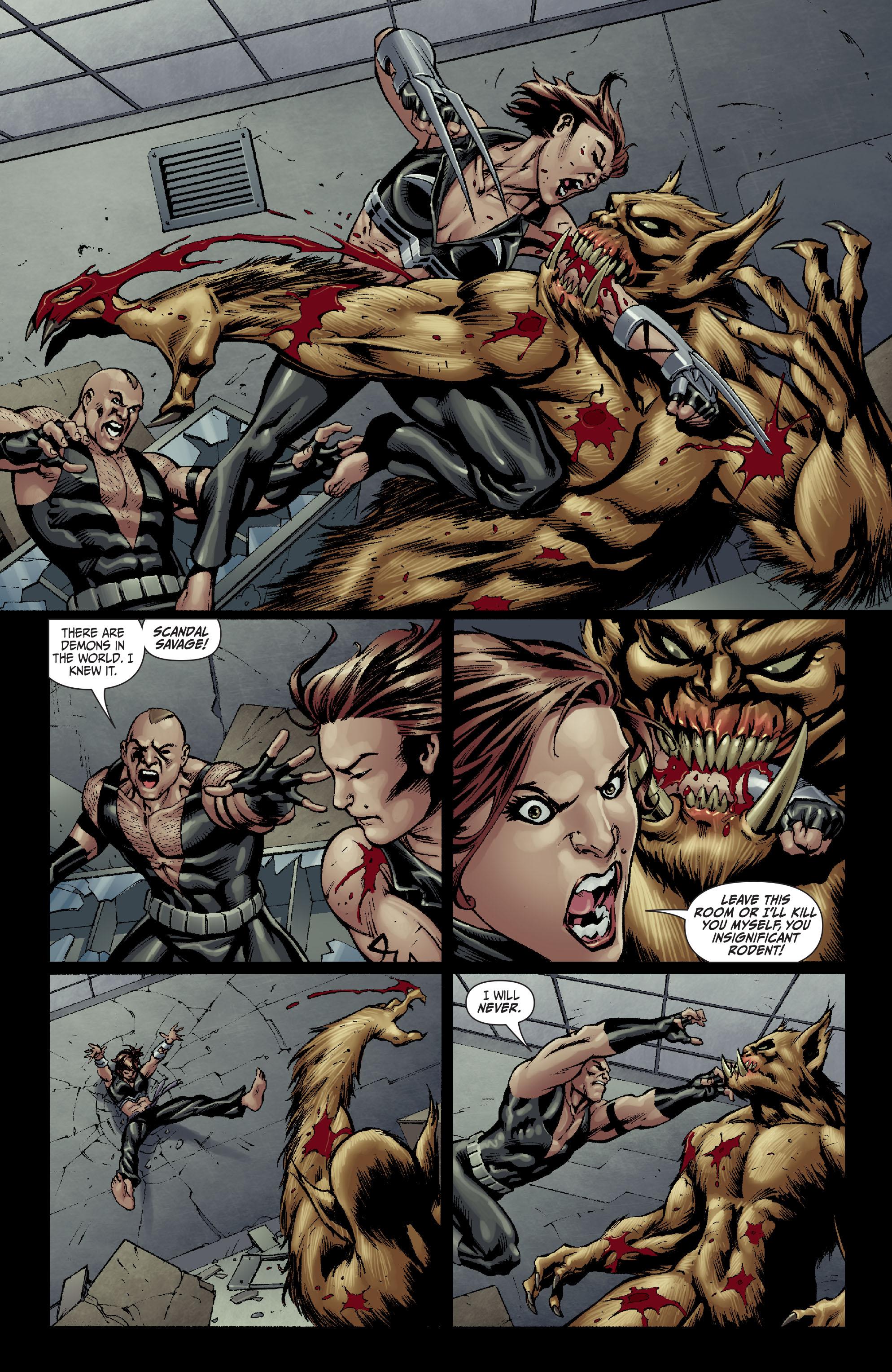Read online Secret Six (2008) comic -  Issue #14 - 16