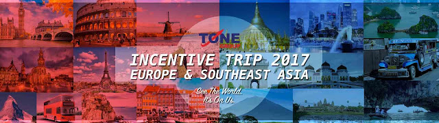 Percutian ke Asia Tenggara dan Eropah Tune talk Tone Excel