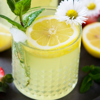 Sparkling Limoncello Cocktail