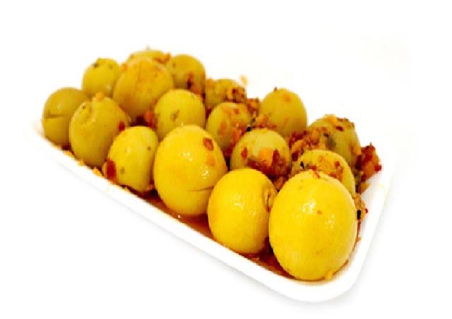 طريقة عمل الليمون المعصفر المسلوق والسريع تعرفي عليها الآن !