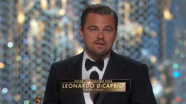 Leonardo DiCaprio agora tem um Oscar