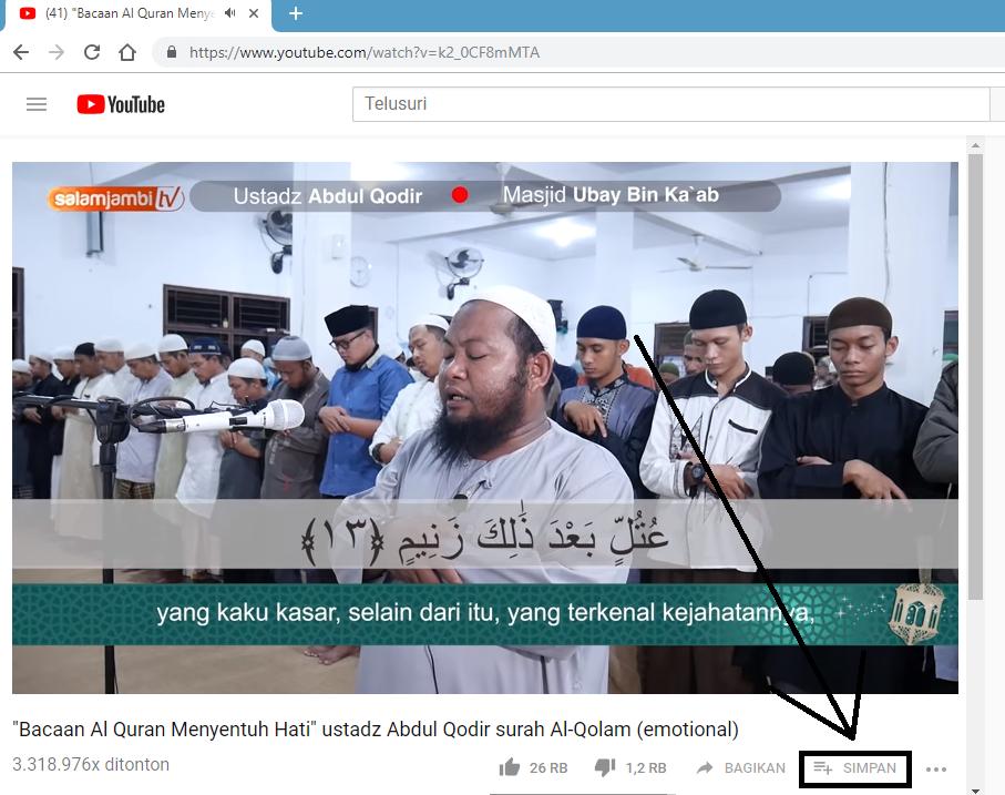 Cara Memutar Video Youtube secara Repeat Otomatis di Laptop