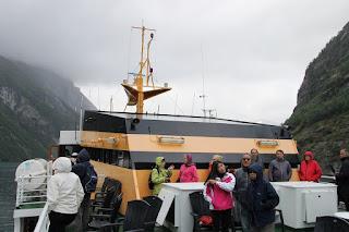 Geiranger, ferry, Norway