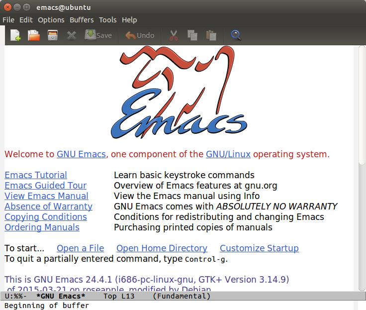How To Install GNU Emacs in Ubuntu