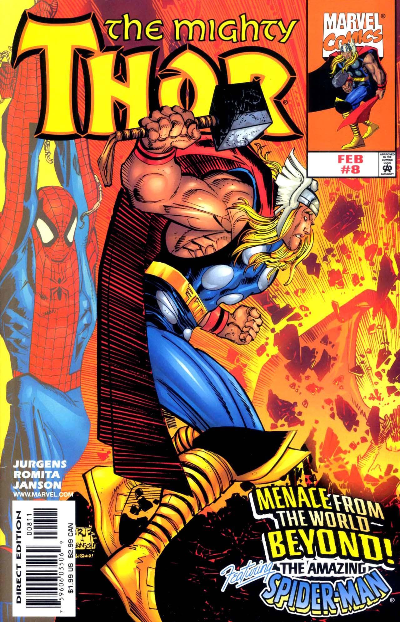 Thor (1998) Issue #8 #9 - English 1
