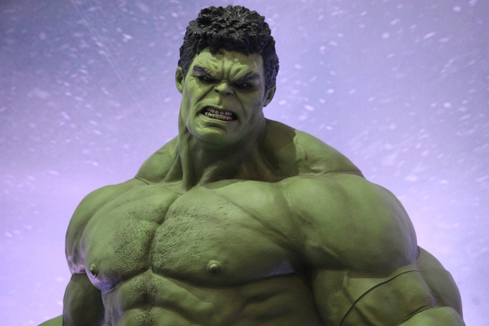 The Hulk body building fitness