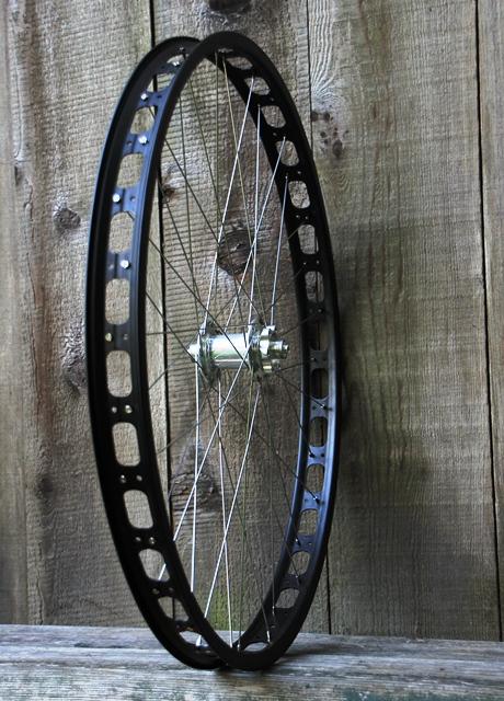 Cycle Monkey Wheel House Mtb Surly Rabbit Hole Rims On