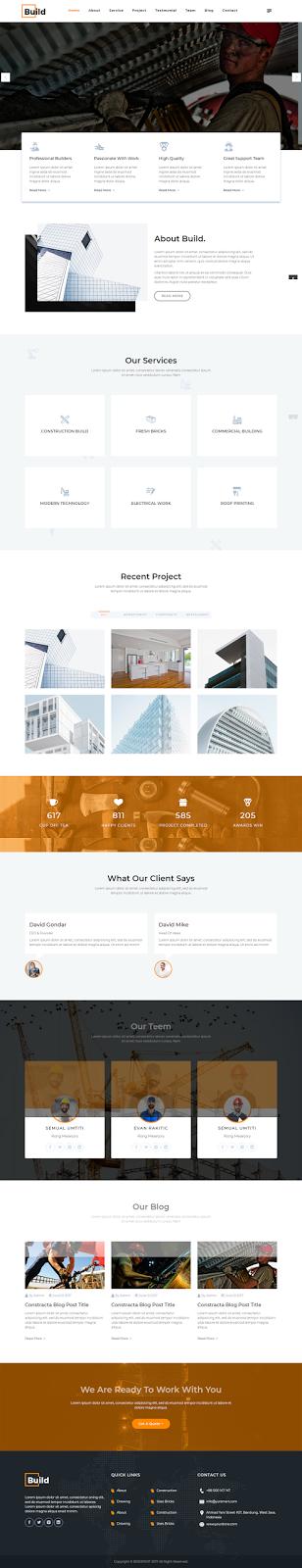 Construction WordPress