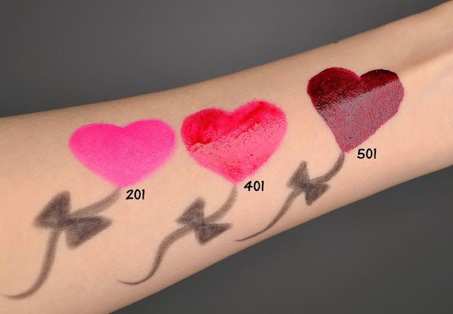Make Up For Ever Artist Acrylip Review Swatches