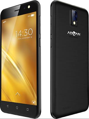 Spesifikasi Advan i5E Glassy Gold 2 Terkini
