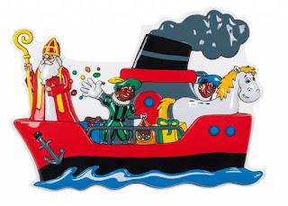 Afbeeldingsresultaat voor sinterklaas op de boot