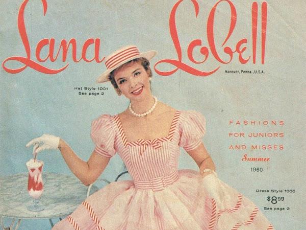 Lana Lobell Fashions of the 1950's-1960's