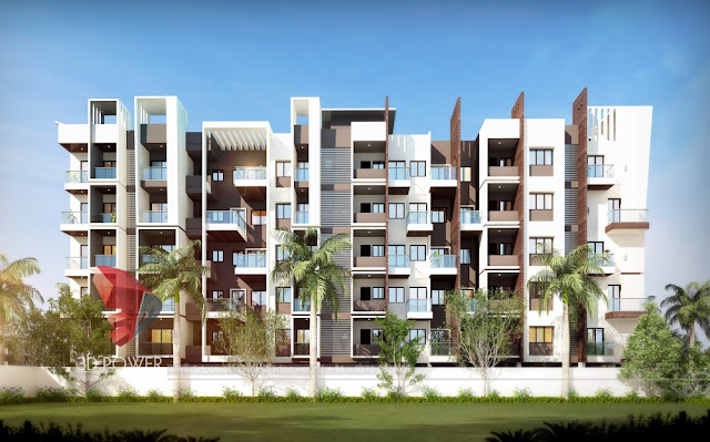 Realistic 3D Architectural Rendering, 3D Walkthrough & Rendering for your Apartment project.