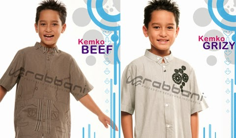 model baju koko anak rabbani