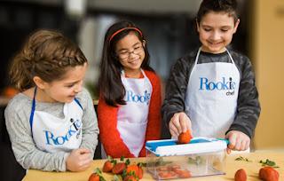 kids and rookie chef island