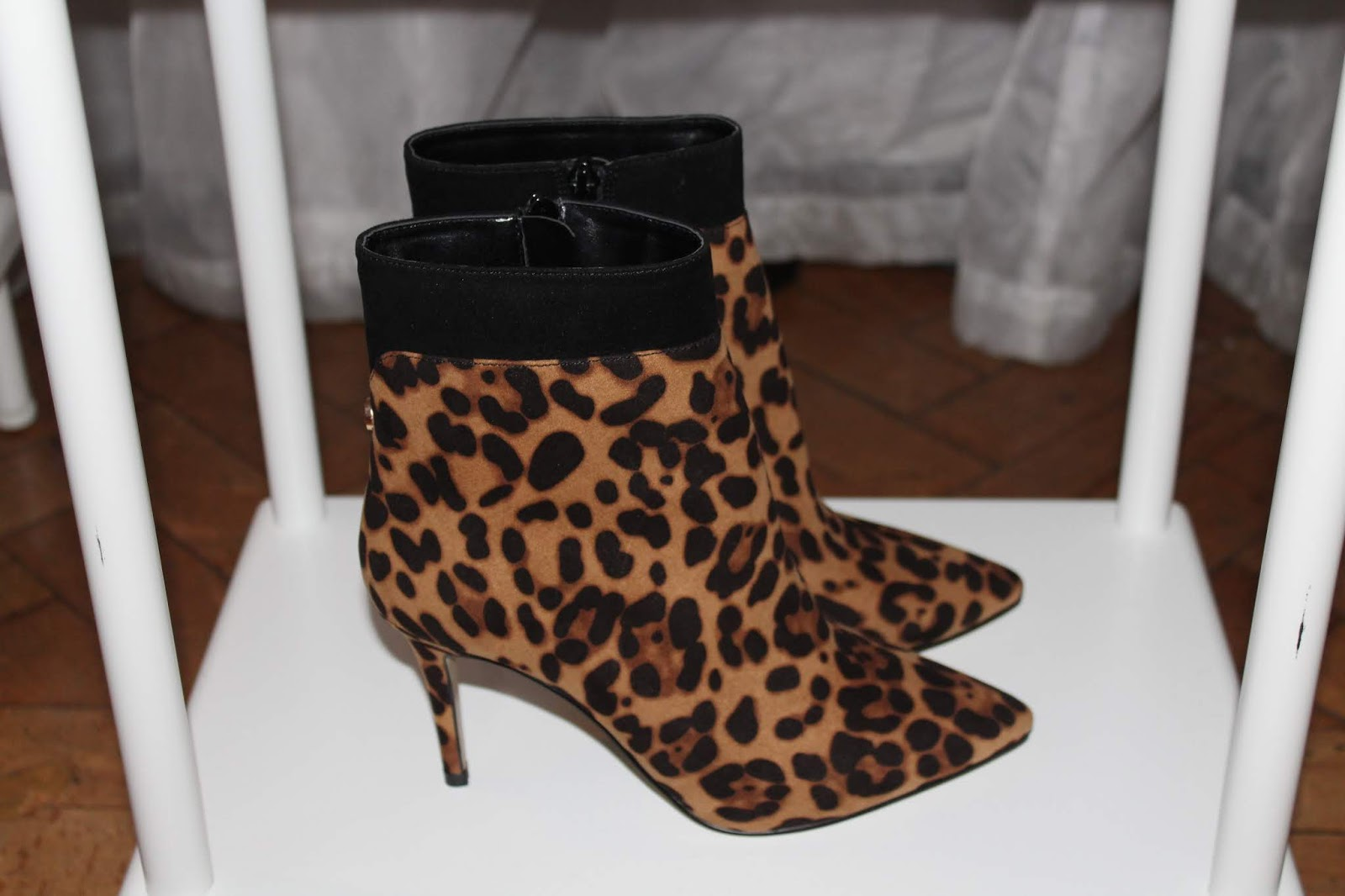 uk store exclusive shoes factory outlet Leopard Print Trend: Ankle Boots