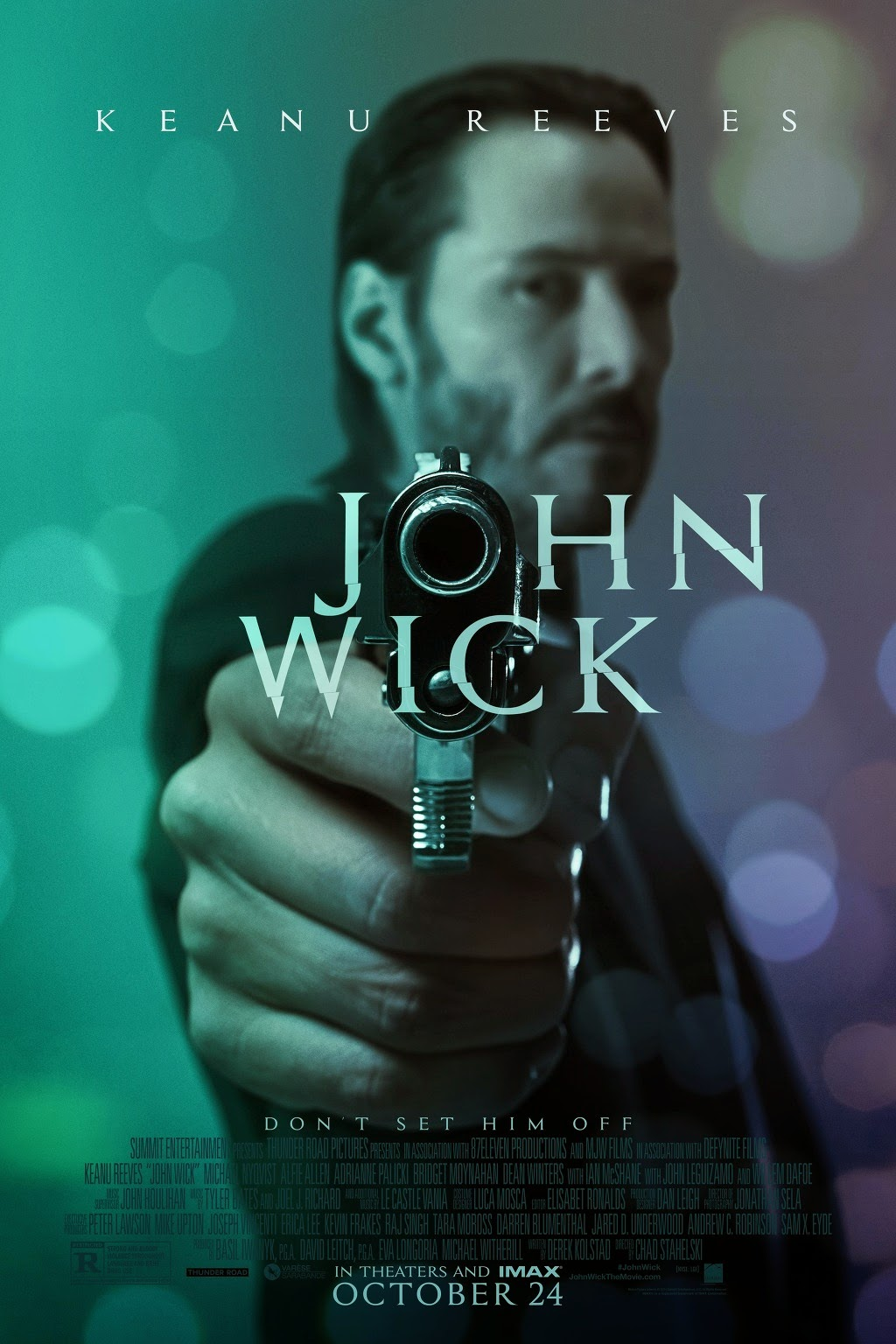 John Wick: Keanu Reeves stars in Derek Kolstad's story - directed by Chad Stahelski's | A Constantly Racing Mind