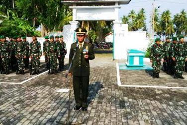 Sederhana, Peringatan ,HUT TNI ke 71, Di, Kabupaten Kepulauan Selayar