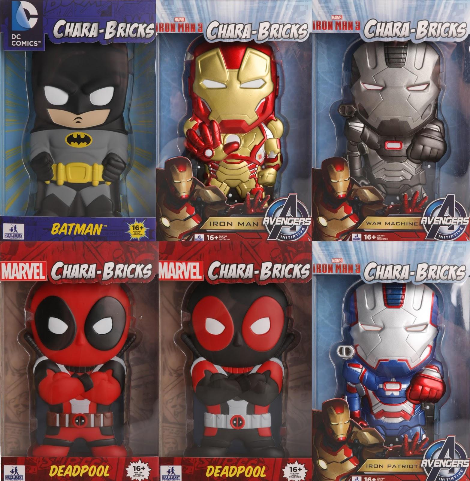new product 03441 d5f35 The Blot Says...: SDCC 13 Exclusive DC & Marvel Chara-Brick Vinyl ...