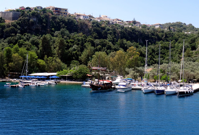 Spilia Harbour Meganisi