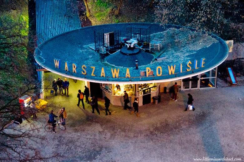 Warszawa Powiśle, designerskie miejsca w warszawie