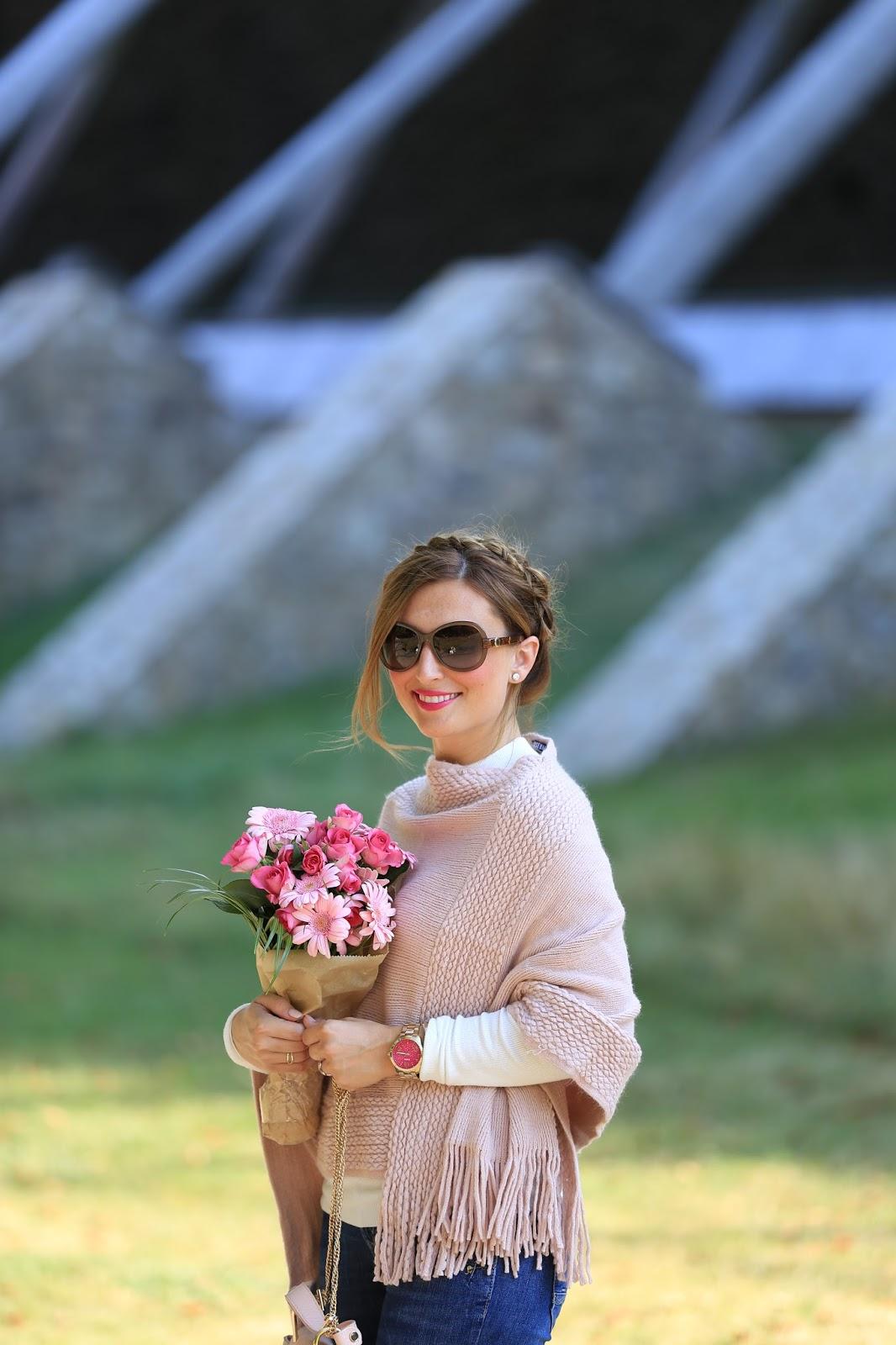 Fashionstylebyjohanna - Herbst Looks - Was zieht man im Herbst an - Poncho kombinieren