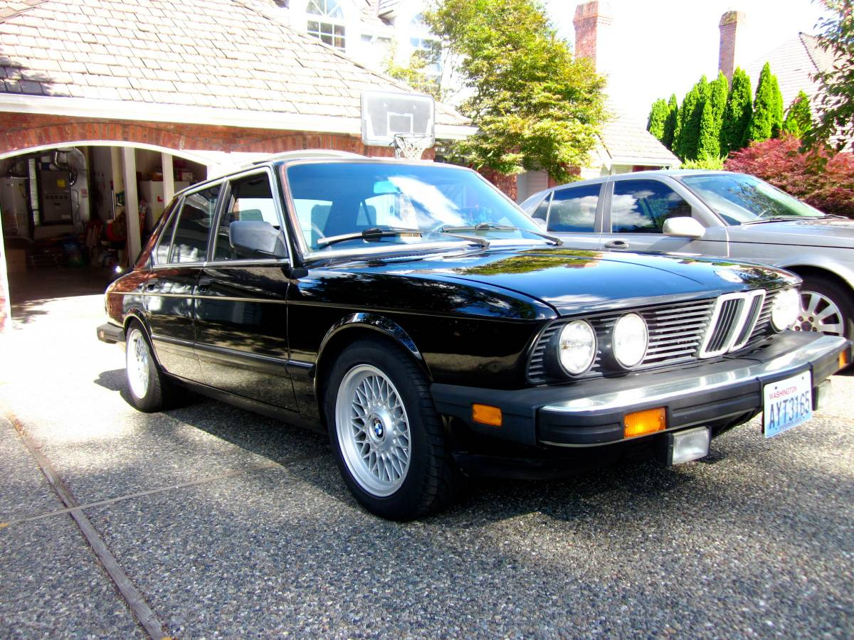 Daily Turismo: Built E28 Turbodiesel: 1985 BMW 524TD