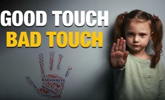 "Teach Your CHILDREN ""GOOD TOUCH & BAD TOUCH"""