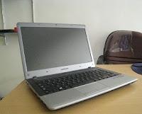 jual laptop bekas samsung np355u4x