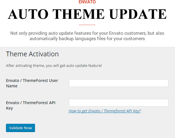 Sneeit Framework Plugin - Back-End for WordPress Themes - Auto Envato Theme Updater