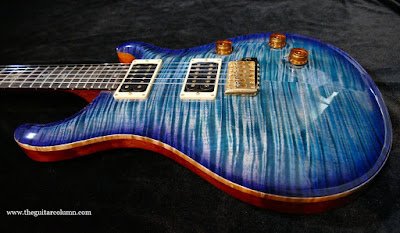 PRS Custom 24 scraped binding