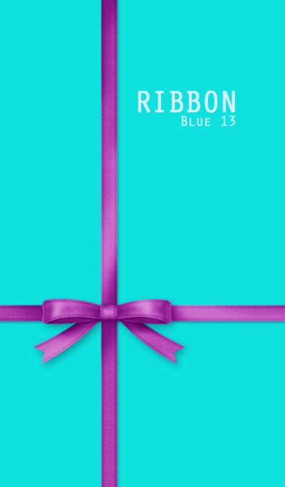 Ribbon/Blue 13