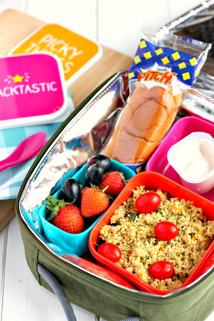 3 Back To School Lunchbox Ideas With Brioche Pasquier