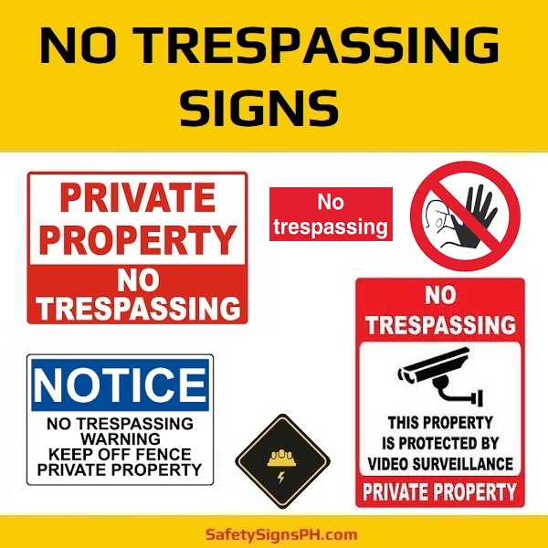 No Trespassing Signs Philippines