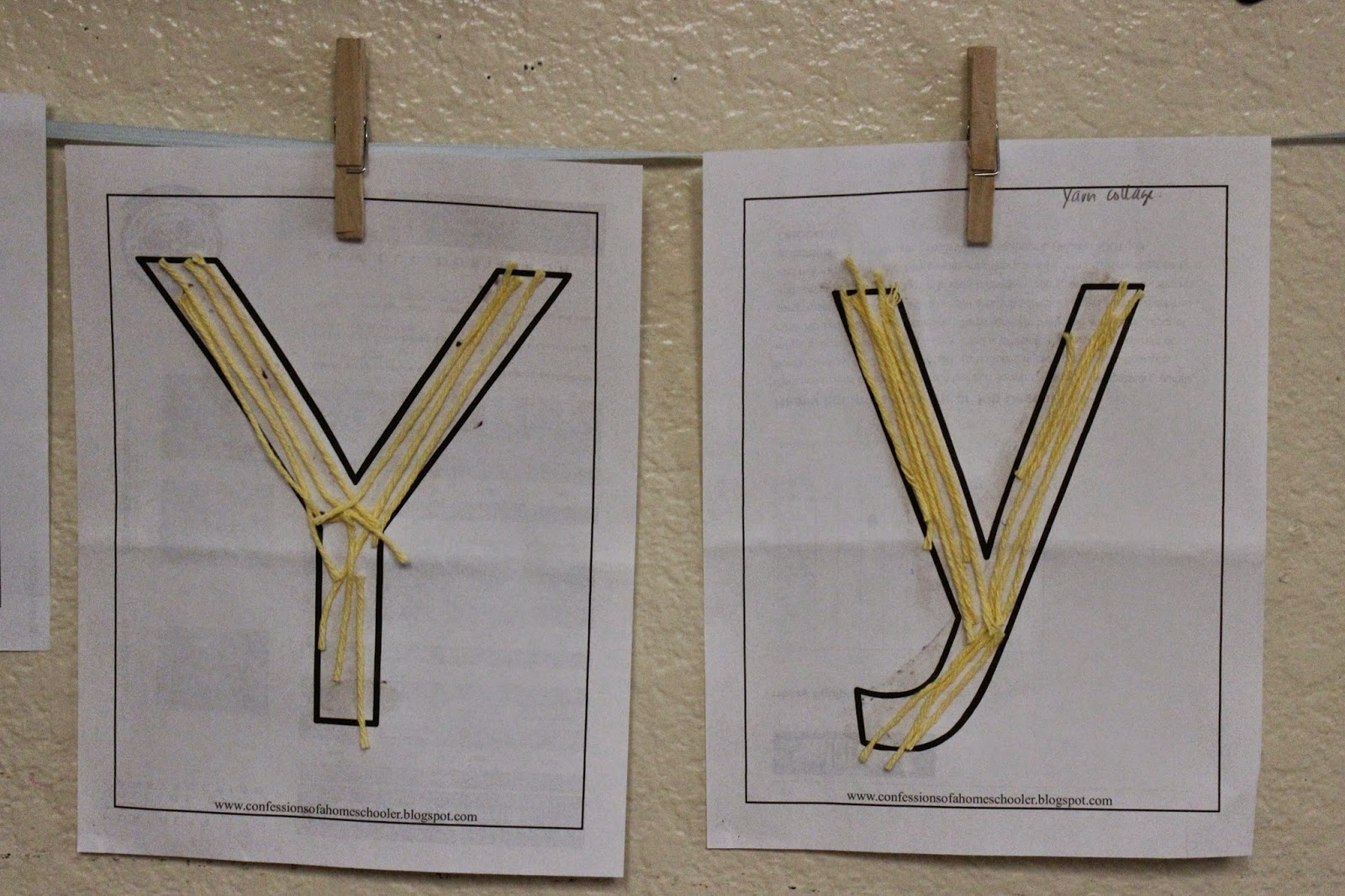 Letter Of The Week Yy